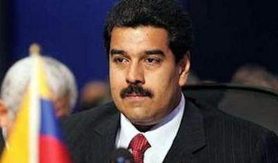 Venezuelan leader Nicholas Maduro.