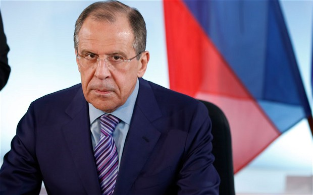 Russian Foreign minister Lavrov fired warning shot at US over diplomat spat. Net picture.