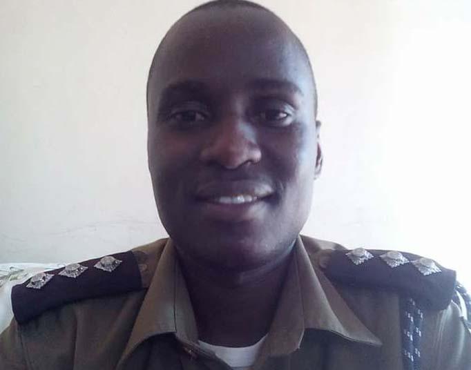 Busoga East police spokesperson James Mubi. Courtesy photo.