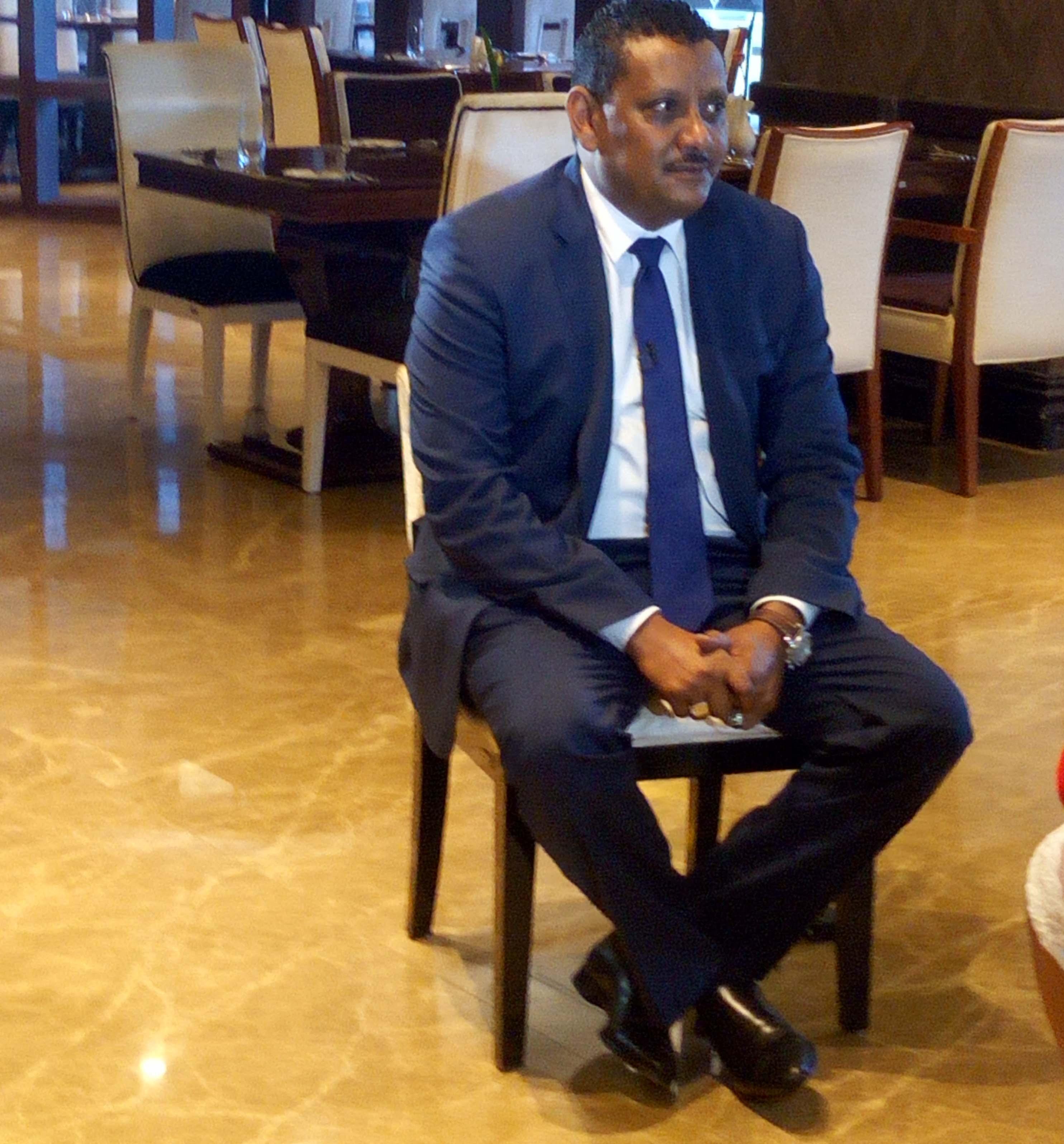 AYA boss, Abid Mohmood speaking to press