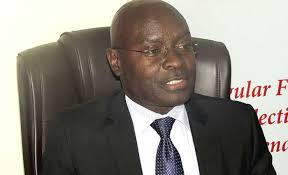 Electoral Commission chairperson Simon Byabakama. File photo.