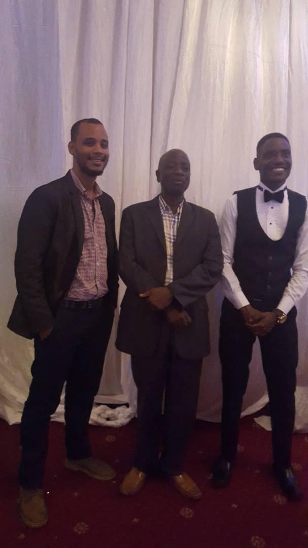Lubwama and Mayambala at a function.