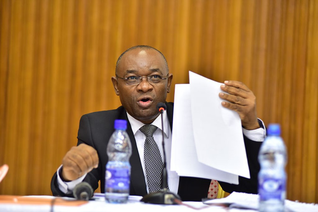 MP Raphael Magyezi has todat tabled the age limit amendment bill for the first reading. File photo.
