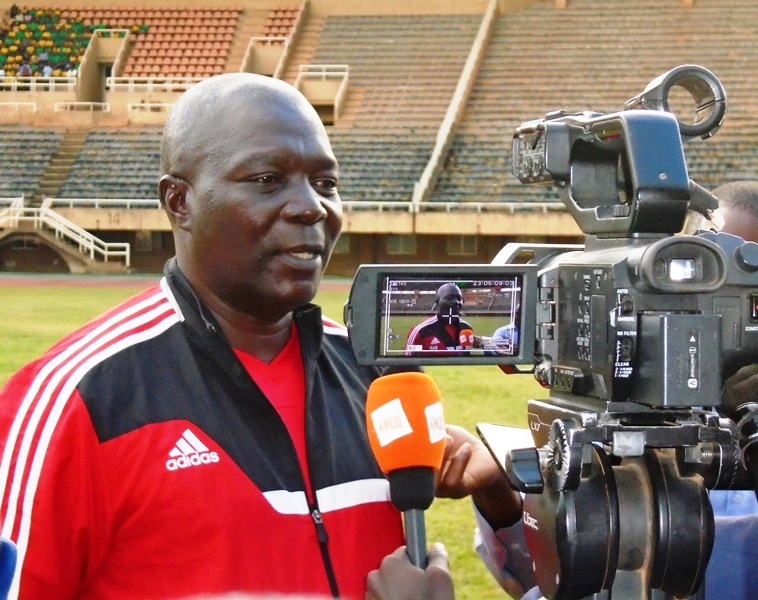 Uganda Cranes coach Moses Basena.