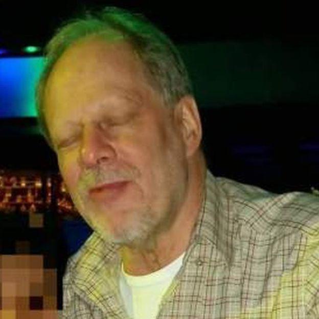 Suspected gunman Stephen Paddock