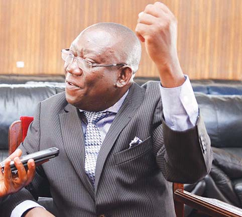 Hon Kato Lubwama says he couldnot fight with 'Kifeesi'. Photo by Paul Waiswa.
