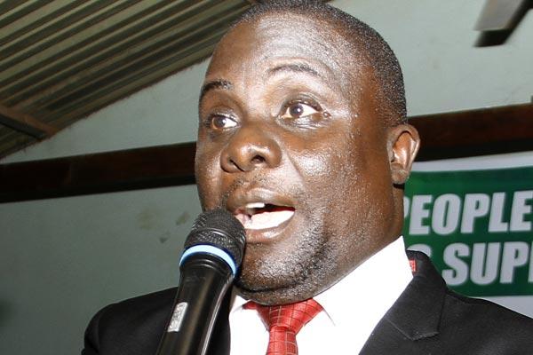 Butambala County MP Muwanga Kivumbi.