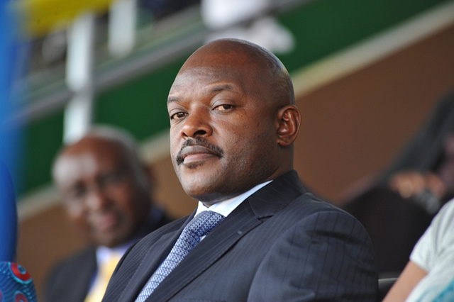 President Pierre Nkurunziza of Burundi. File photo.