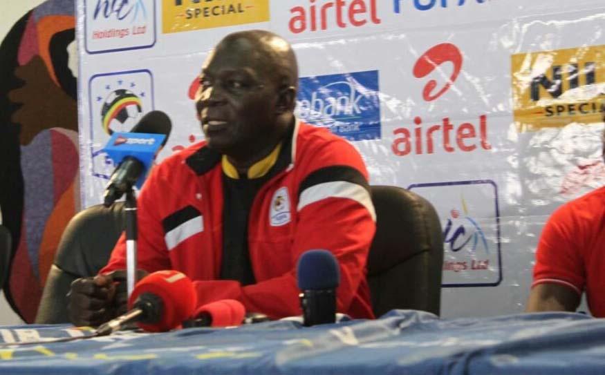 Cranes coach Moses Basena addresses journalists ahead of tomorrow's match.