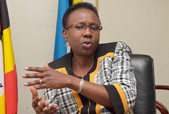 Health minister Dr. Jane Ruth Aceng.  Health Ministry set to launch National Day of Physical Activity (FILE PHOTO
