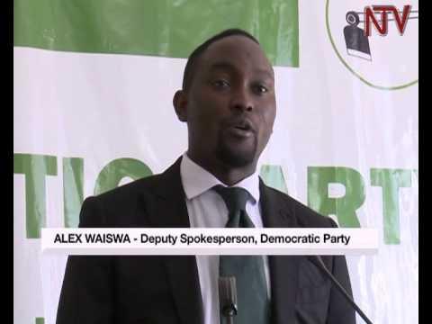 DP deputy spokesperson Alex Waiswa