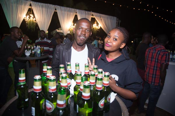 The new Amstel beer that has just joined the Uganda market.