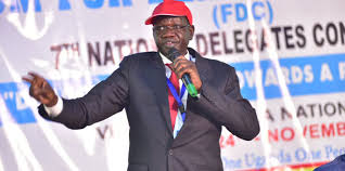 FDC party president, Patrick Amuriat (file Photo)