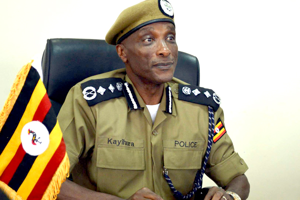 Police chief Gen Kale Kayihura. (File photo)