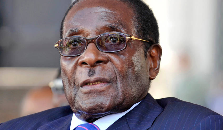 Robert Mugabe has been in power since 1980.