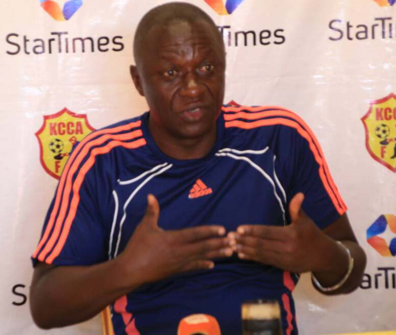 KCCA FC head coach Mike Mutebi I not impressed by the perfomances of some of his senior players.
