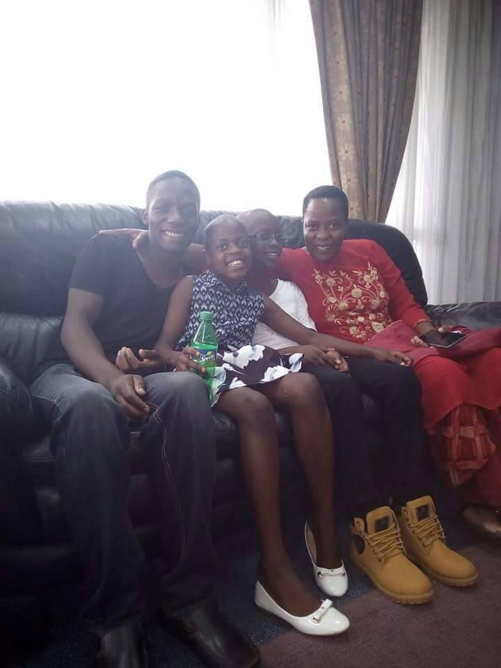 Mukono Municipality MP Betty Nambooze and her children. File photo.