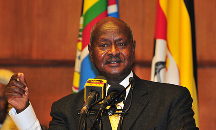 President Yoweri Museveni has vowed to fire striking medical workers. File photo.