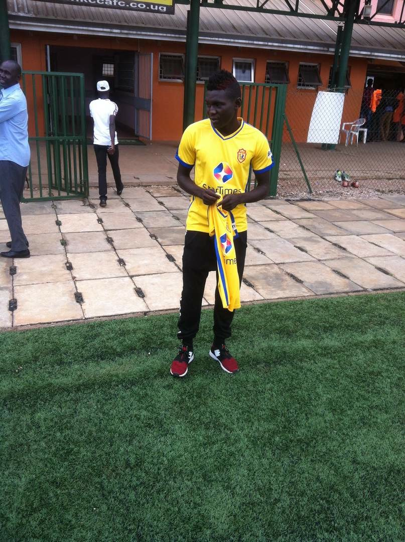 Former Odumparaka striker Mohammad Shaban. Courtesy photo.