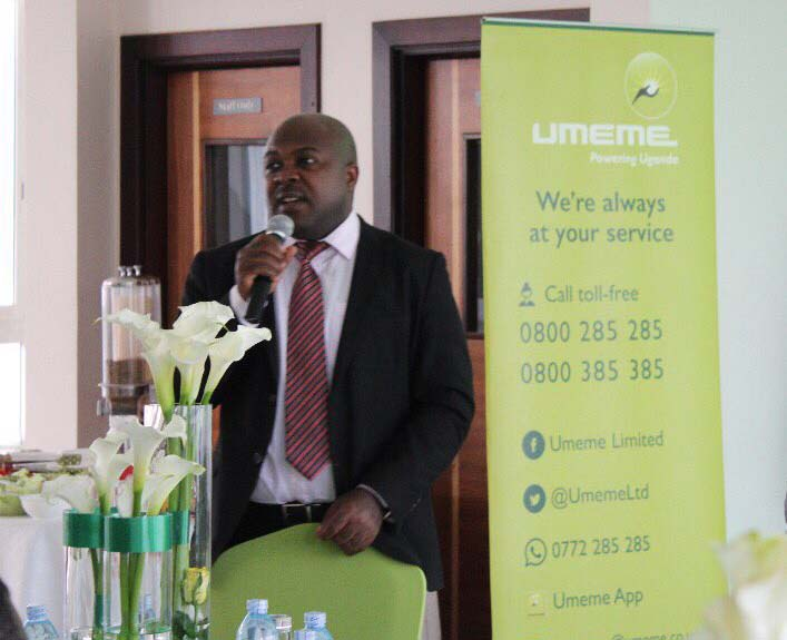 A Umeme official