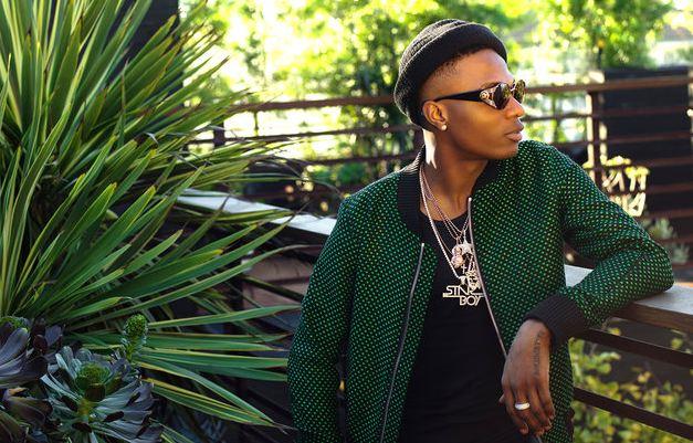 Popular Nigerian super star Wizkid