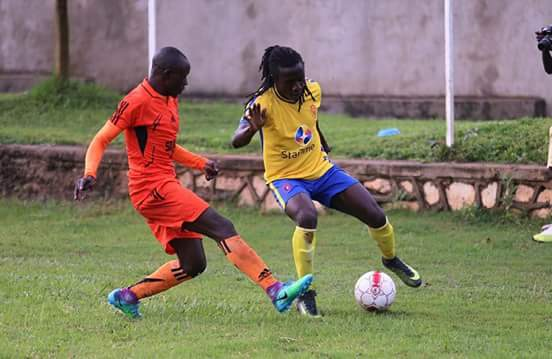 Allan Kateregga(right) hope to get his first cap for the Cranes after he was summoned for the CECAFA team
