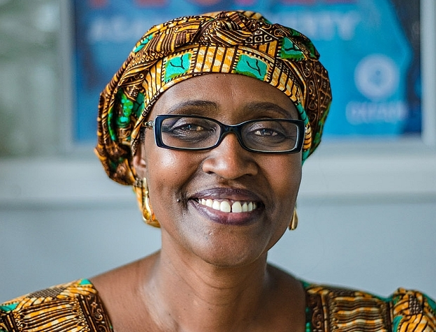 Winnie Byanyima has quits has job as Oxfam director, crossing to UNSAID. (FILE PHOTO)