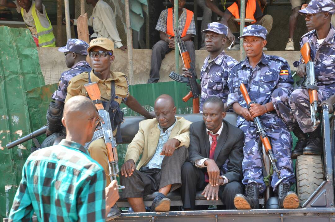 DP's national chairman Mayambala arrested as party officials were protesting his morning (1)