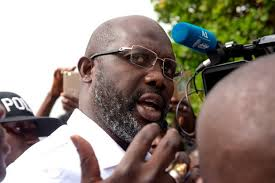 1995 FIFA world footballer of the year George Weah has been confirmed Libria's president-elect.