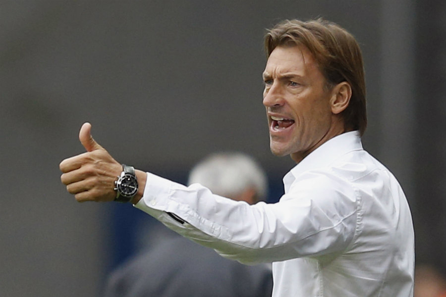 Herve Renard hopes to win his first major trophy with Morocco