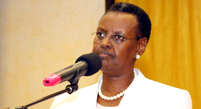 The First Lady and Education minister Janet Museveni (PPU PHOTO)