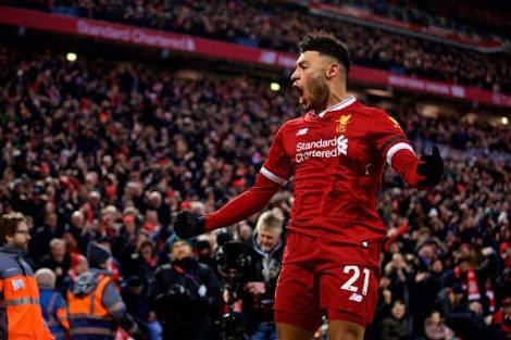 Alex Oxlade Chamberlain was brilliant as Liverpool defeated Man City
