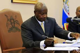 President Museveni assented to the age limit bill recently passed by Parliament
