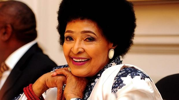 South African icon Winnie Mandela. File photo.