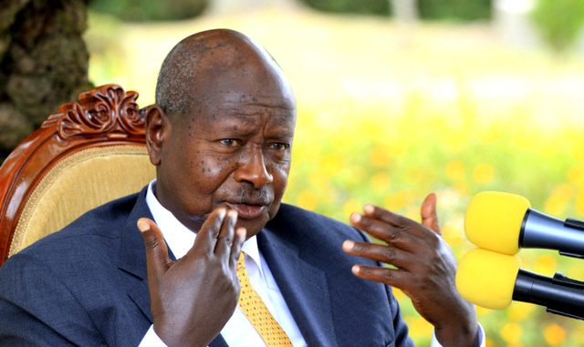 President Museveni has insisted on having criminals hanged.