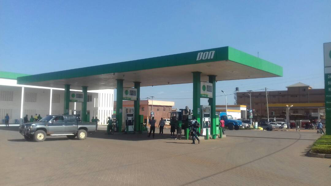 People evacuated Don petrol station in Gulu town as generator sparked off fire.