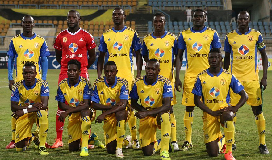 KCCA team that was used in one of the continental games last season. Some of the players do not feature on the list submitted this time round