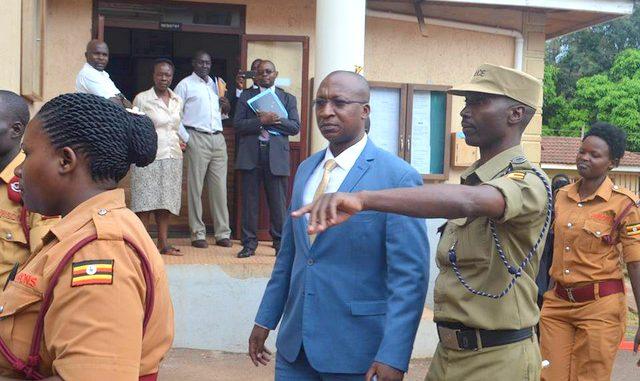 Mr Herbert Kabafunzaki at the Anti-Corruption Court last year: NET PHOTO