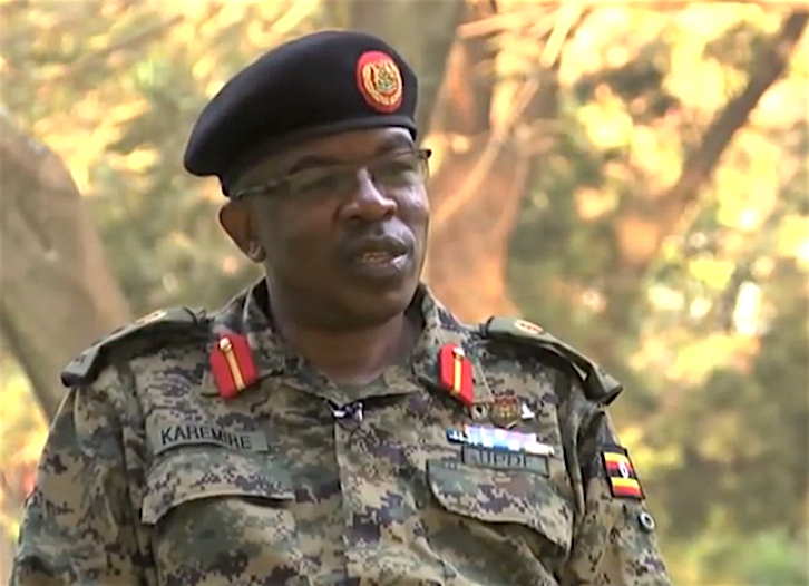 Brig. Richard Karemire has confirmed the shooting incident in Somalia. (PHOTO/FILE)