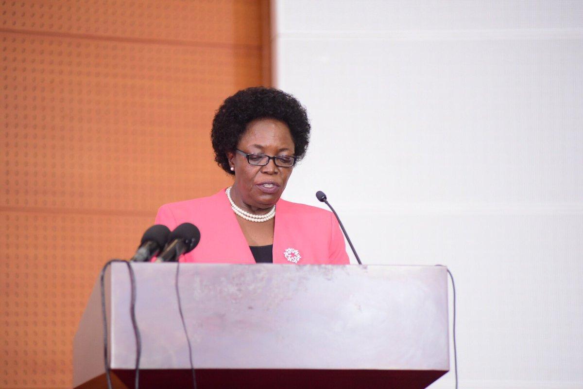 Prof Mary Okwakol, the Uganda National Examinations Board chairperson