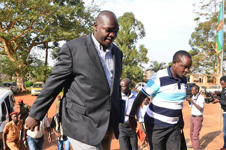 Senior police officer Nixon Agasirwe and several others are facing trial over misconduct.