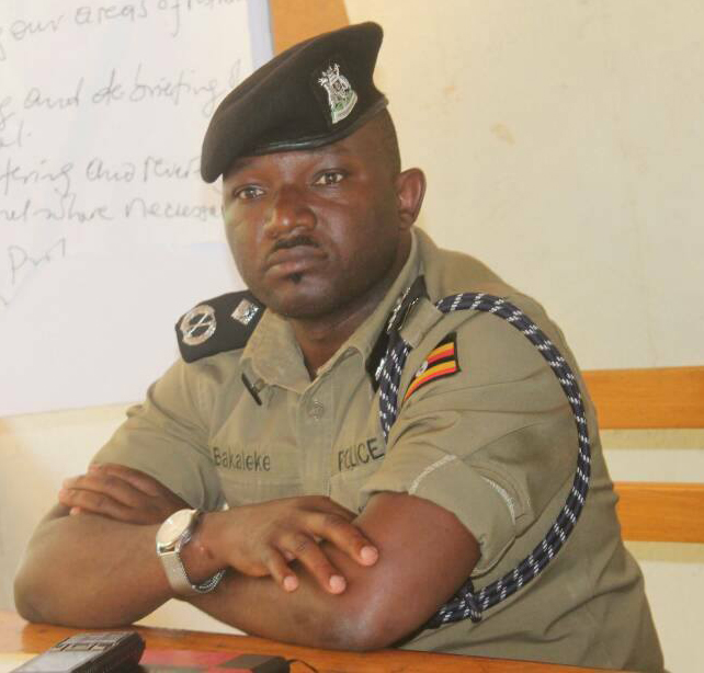 Police leadership has given Ex-Kampala South Regional Police Commander Siraje Bakaleke a 3-day ultimate to be declared a DESERTER of the force (FILE PHOTO)