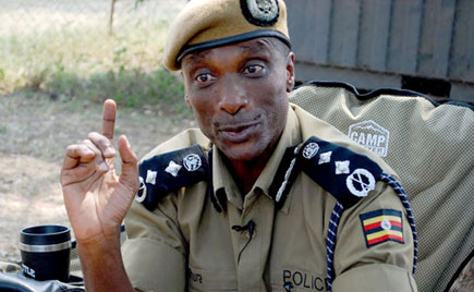 Police boss Kale Kayihura: NET PHOTO