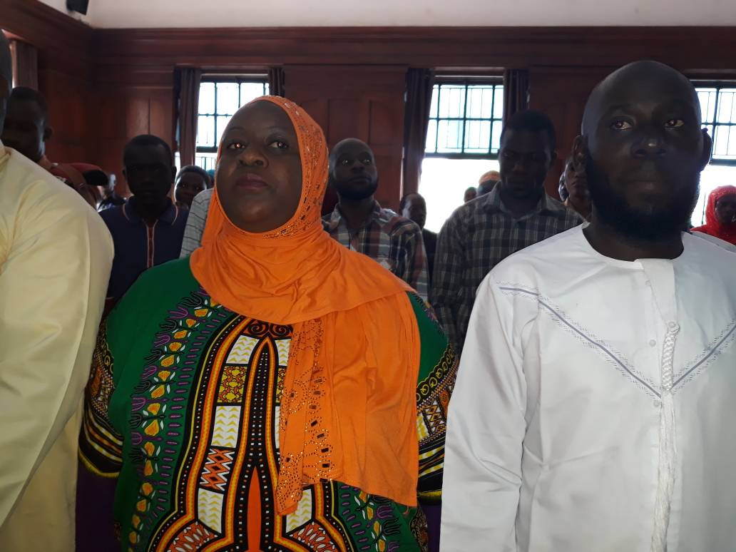 Suspects including Aisha Nakasibante in High Court this morning: PHOTO BY RACHEAL AGABA