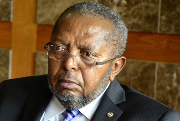 Long serving Governor Mutebile is under the spotlight for losing the firm control of affairs at the central bank (PHOTO/File).