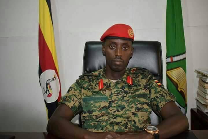 Newly appointed deputy IGP Brig Sabiiti Muzeyi.