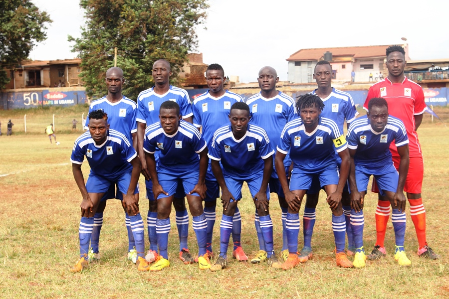 Pic. The Busosga team that defeated Bugisu 3-0 in the Drum opener on 24th February.