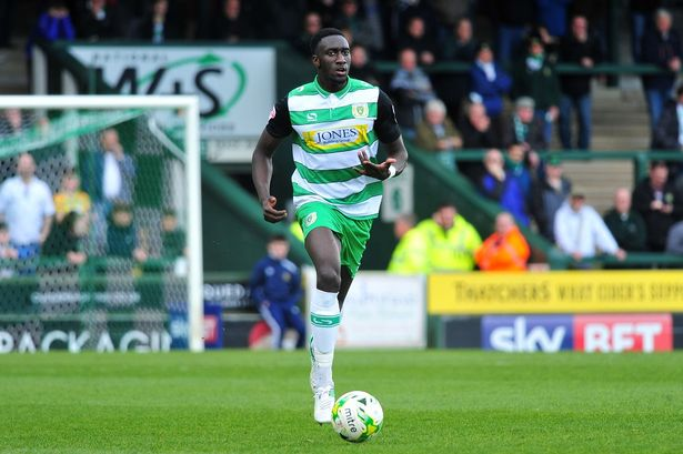 Yeovil's Bevis Mugabi has been called up by Desabre.