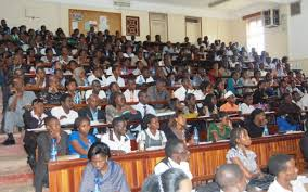 Students attend a lecture at Makerere University School of Law Lecture Theatre: COURTESY PHOTO