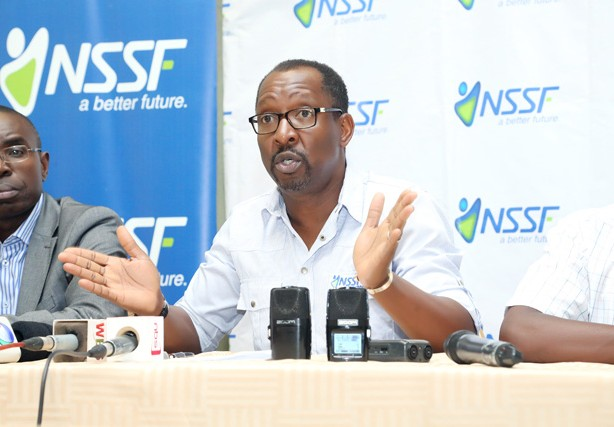 Funds Executive Director National Social Security Fund - NSSF, Mr. Richard Byarugaba